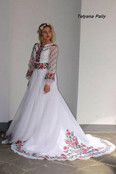 Вишиті Весільні Плаття Фото f87c40a3f1040