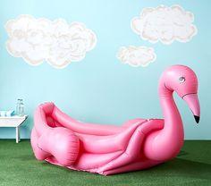 Flamingo Inflatable Pool | Pottery Barn Kids