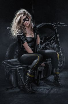 "Bosslogic Many requested it so here is a quick @KatherynWinnick Black Canary <a class=""pintag searchlink"" data-query=""%23SuitUp"" data-type=""hashtag"" href=""/search/?q=%23SuitUp&rs=hashtag"" rel=""nofollow"" title=""#SuitUp search Pinterest"">#SuitUp</a>"