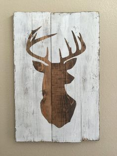 old wood used for deer plaque - Google Search