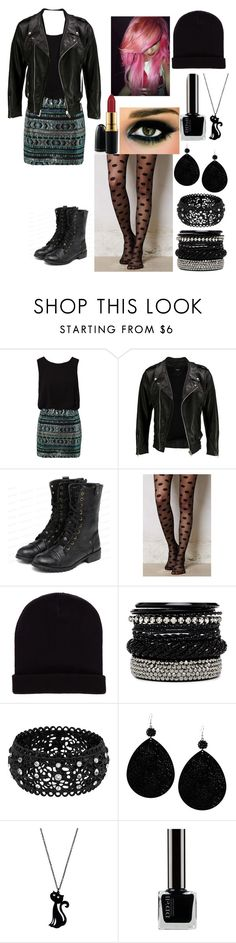 """Untitled #43"" by imonlyalone ❤ liked on Polyvore featuring TFNC, VIPARO, yeswalker, ELOISE, Pull&Bear, 2b bebe, Betsey Johnson, Pura Vida and MAC Cosmetics"