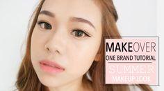 MakeOver Indonesia One Brand Tutorial   Summer Makeup Look   Molita Lin