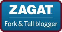 Zagat Blogger. One of only 50 in the country