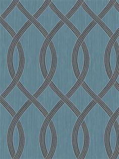 Black and Blue Bluestem Contemporary Wallpaper, SBK23292