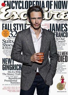 Esquire Magazine James Franco