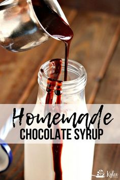 A cinch to make (and you can pronounce all the ingredient names), this Homemade Chocolate Syrup is delicious and versatile!