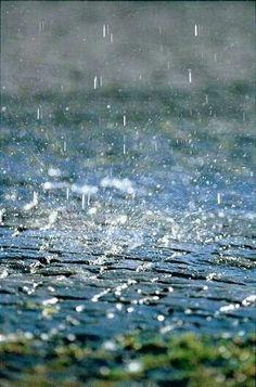 I love watching, listening to rain!