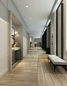 lobby hotel corridor lighting design how to create luxurious hotel feel in your home destination living bracket smackdown Interior Architecture, Interior And Exterior, Hotel Corridor, Flur Design, Style At Home, Home Fashion, Interior Inspiration, Design Inspiration, Interior Ideas