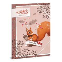 Woodland Magic gumis dosszié A/4 Red Squirrel, Woodland, Kids Rugs, Magic, Fall, Home Decor, Autumn, Decoration Home, American Red Squirrel