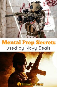 4 Mental Preparedness Secrets Used by Navy Seals. You can practice survival skills like food utilization, finding water, and emergency first aid but, unless you are mentally prepared, these skills aren't going to do you a bit of good. Unfortunately, mental preparedness usually gets put on the backburner.In short, mental preparedness is a way of getting your mind ready to cope with stresses in a survival situation. Navy Seals, Marines, SWAT teams, and law enforcement go through mental…