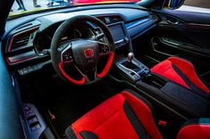 Car Ecu, Honda Civic Type R, Honda S, Air Conditioning System, Black Accents, Cars, Autos, Car, Automobile