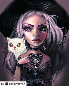 My Ghost – The Art of Kurtis Rykovich Gothic Horror, Horror Art, Dark Fantasy Art, Dark Art, Dark Gothic Art, Dibujos Pin Up, Art Inspiration Drawing, Goth Art, Art Drawings