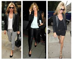 Kate Moss: how to wear the tux jacket