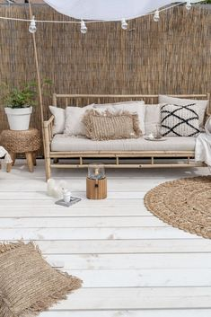 Groen in de tuin Outdoor Spaces, Outdoor Living, Outdoor Decor, Ideas Terraza, Unique Garden, Boho Dekor, Interior And Exterior, Interior Design, Terrace Design