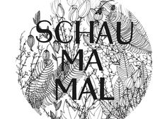 Postkarte *Schau ma mal* A6 auf 300g Recyclingpapier Illustration & Typographie von loretta cosima Poster, Illustration, Shopping, Paper Mill, Postcards, Illustrations, Posters, Billboard