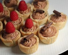 Mini French Pastry Recipes | was having the neighbors over for dinner and had made these apple ...