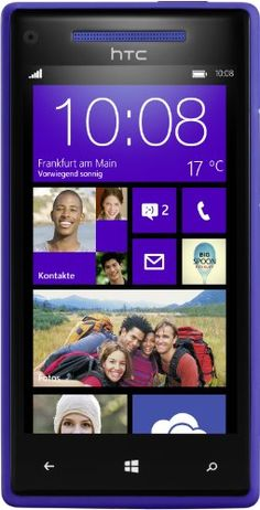 Windows Phone 8X by HTC california blue