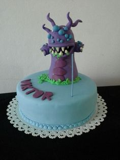 Baron Nashor - league of legends cake