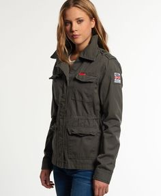 Superdry Rookie Military Blazer - Women's Jackets & Coats