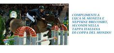 Copertina facebook con i complimenti a Luca Moneta