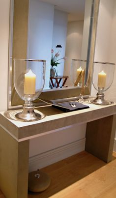hallway table neptune leather console table simpsons mirrors