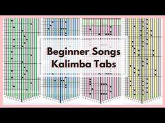 Beginner Songs Part 2 - Kalimba Tabs Piano Music, My Music, Sheet Music, Kalimba, You Are My Sunshine, Music Education, Ukulele, Good To Know, Language