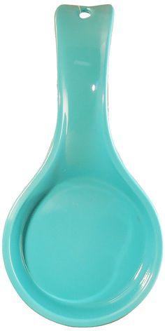 Amazon.com: Calypso Basics Spoon Rest, Turquoise: Kitchen & Dining