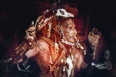 Snaga: One tribe - Kaushatar on Behance  Orc uruki Larp Cosplay