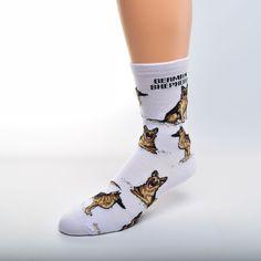FBF German Shepherd Poses Sock