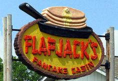 Flapjack's Pancake Cabin in #PigeonForge makes breakfast your favorite meal of the day.