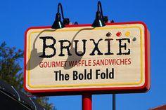 Bruxie Gourmet Waffle Sandwiches in Orange, California - Amazing sandwiches and awesome custard shakes
