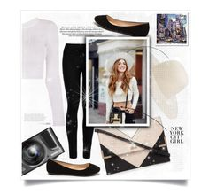 """Trip in New York"" by nata0 ❤ liked on Polyvore featuring Lipsy, Off-White and Wolford"