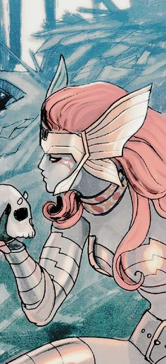 """""""You had come hunting riches in a palace of dust and ghosts and bones, but in the end, I was the treasure you stole."""" Angela in Asgard's Assassin #4"""