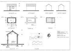 bouwtekening tuinhuis - Google zoeken | tuin - ontwerpen | Pinterest