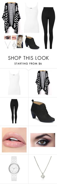 """Picture Day"" by rnelson-17 ❤ liked on Polyvore featuring ATM by Anthony Thomas Melillo, Topshop, ECCO, DKNY and Forzieri"