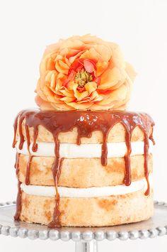 Vanilla Caramel Drip Cake | Sprinkles for Breakfast