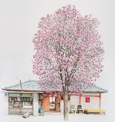 Artist Me Kyeoung Lee Spends 20 Years Drawing South Korean Convenience Stores - BOOOOOOOM! - CREATE * INSPIRE * COMMUNITY * ART * DESIGN * MUSIC * FILM * PHOTO * PROJECTS