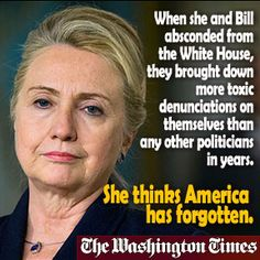 No, no! Hillary's disastrous years in Little Rock, then as First Lady are not relevant! Never mind that public figures stood in line to denounce her? Remember when Joe Biden, Chuck Schumer, William M. Daley, Barney Frank and even Jimmy Carter accused her of -- READ MORE: