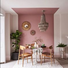 Painted Feature Wall, Feature Wall Bedroom, Mad About The House, Sweet Home, Monday Inspiration, Bedroom Inspiration, Workout Inspiration, Color Inspiration, Interior Inspiration