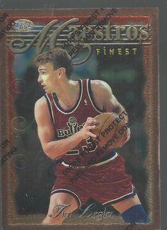 1997 Tim Legler ToppsFinest Maestro Washington Bullets Basketball Trading Card   #WashingtonBullets