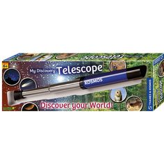 Age 8 Boys will love looking up at the stars with this Thames & Kosmos Discovery Telescope. This is a great gift for beginners.
