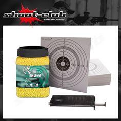 10000 Combat Zone Softair BBs 6mm 0,12g + Speedloader #shootclub #airsoft #softair