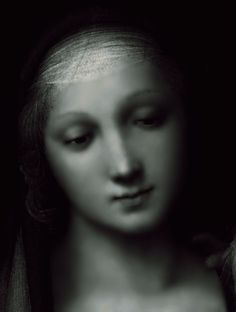 The Granduca Madonna (detail), Raffaello Sanzio