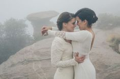 Mountaintop Lesbian Wedding Steph Grant: