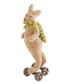 Look at this #zulilyfind! Large Skating Bunny Statue #zulilyfinds
