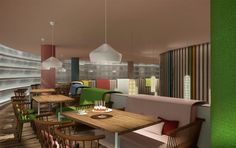 Izba restaurant by Stone Designs, 2012 Moscow (Russia) #StoneDesigns