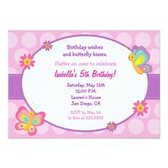 Shop Butterfly Photo Birthday Invitation created by Petit_Prints. 1st Birthday Party Invitations, Graduation Invitations, 1st Birthday Parties, Baby Shower Invitations, Birthday Wishes, Birthday Ideas, Invitation Design, Invitation Cards, Butterfly Birthday