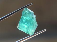 4.50Ct. Natural Unheated Rough Neon Blue Apatite  アパタイト Gemstone TM072  | eBay