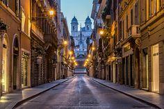 Via dei Condotti, Rome by Karen McDonald on 500px