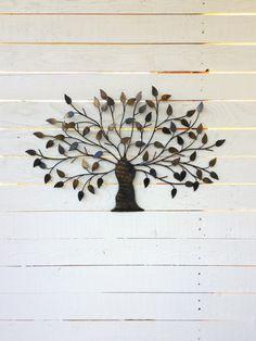 Metal Tree, Wall Art, Iron Tree, Decoration, Hanging Tree, Bonsai Tree Art…